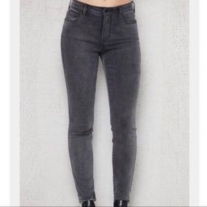 Pacsun high rise gray jeans